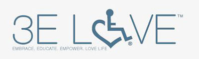 3E Love Logo: Embrace, Educate. Empower. Love Life.
