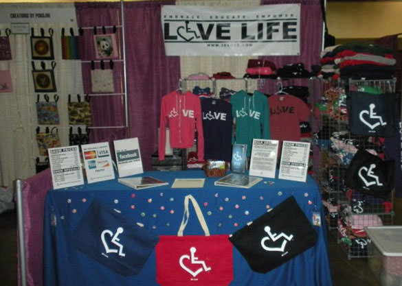 3eLove Products at Abilities Expo.
