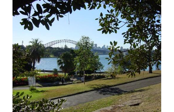 Royal Botanic Gardens - wheelchair accessible.