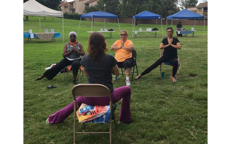 Accesible Yoga in the Park