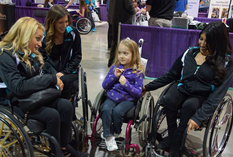 Talking with the stars at the Abilities Expo