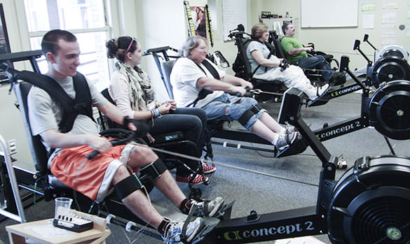 Indoor Assistive Rowing