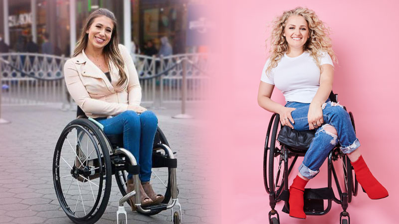 Chesie Hill and Ali Stroker