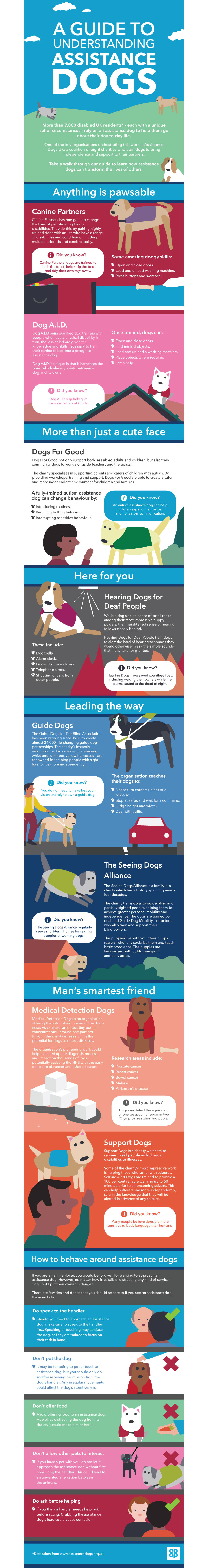 Assistance Dog Infographic