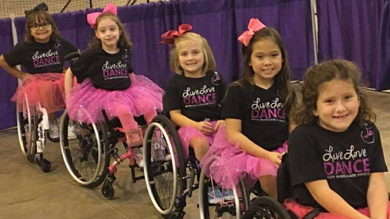Ayita Wheelchair Dance Presentation and Class