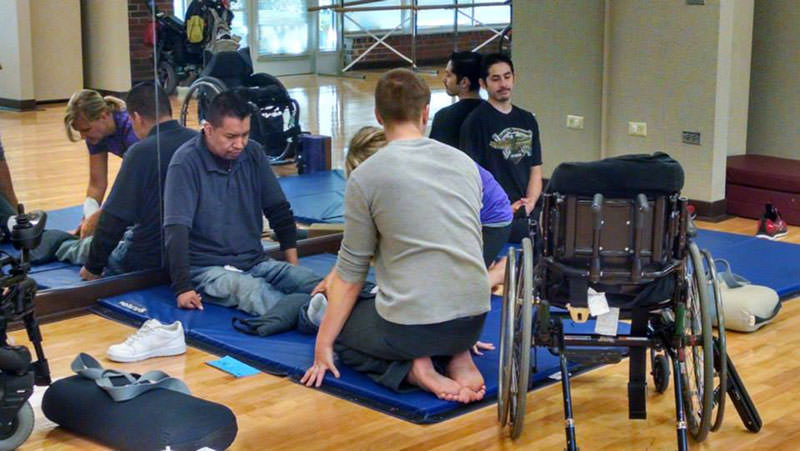 Backbones helping people with Spinal Cord injuries