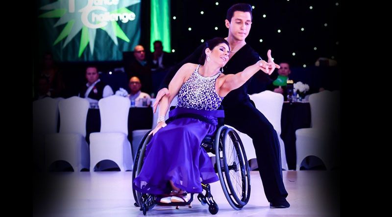 Wheelchair Ballroom Dancing with Cheryl Angelelli!