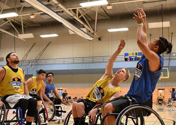 Wheelchair Basketball Demonstration