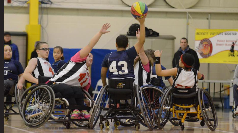 Adapted Wheelchair Basketball