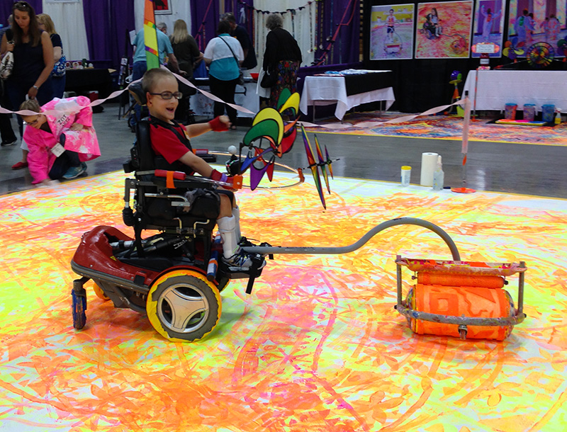 Biggest Wheelchair Painting