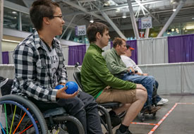 Adapted Boccia Demonstration