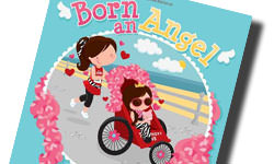 Born and Angel Book Signing.  Image of the Born an Angel Bookcover.