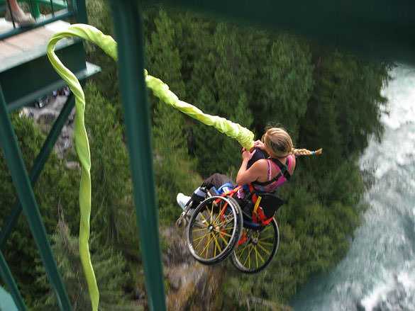 Bungee Wheelchair