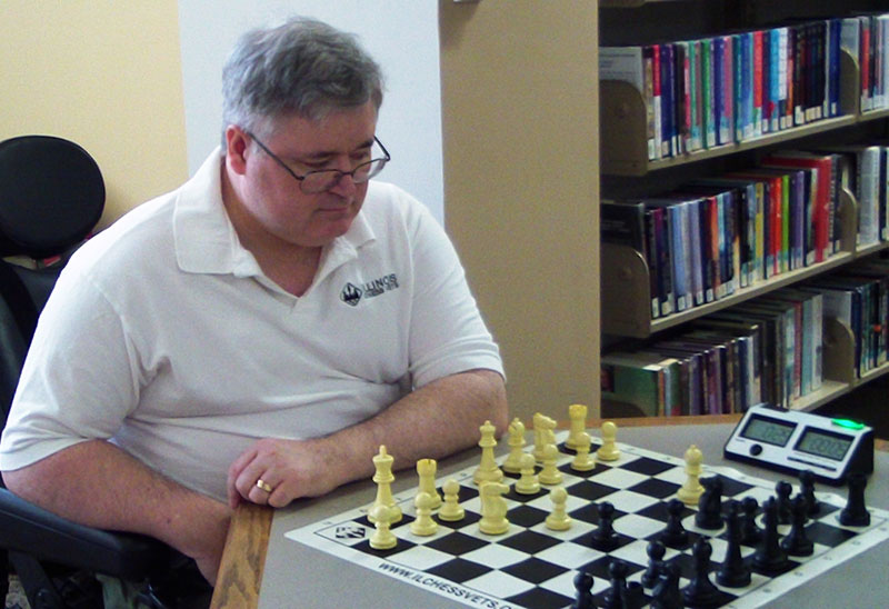 Chess Vets at Abilities Expo in Chicago