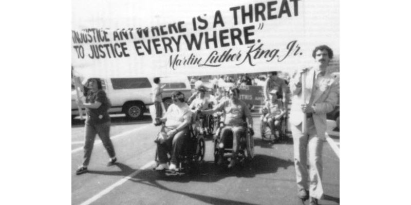 Civil Disobedience for Disabilities