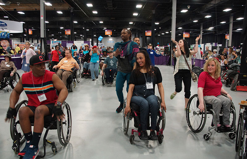 Dance at Abilities Expo