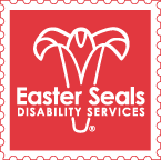 Logo for Easter Seals, Sponsor of the Assistive Technology Showcase at Abilities Expo