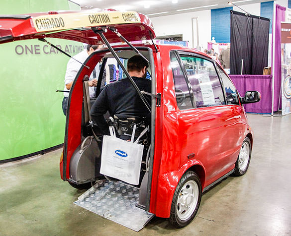 Eco M Accessible car