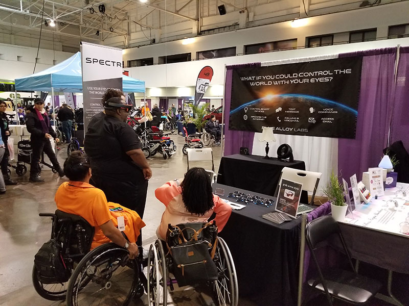 Abilities Toronto Booth
