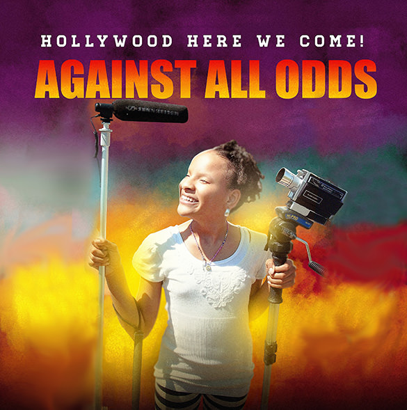 Against all odds, Elizabeth Harrington in Hollywood