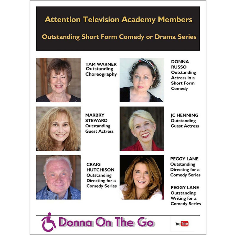 Donna On The Go Submitted For 8 Emmy Nominations