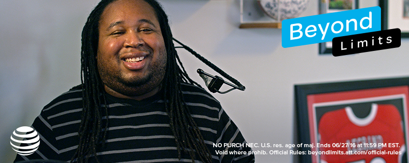 Eric LeGrand in Beyond Limits