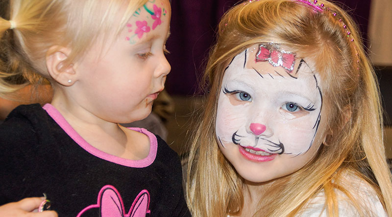 Face Painting in Boston