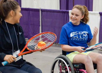Wheelchair and Ambulatory Tennis