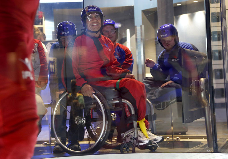 iFly Adaptive Skydiving