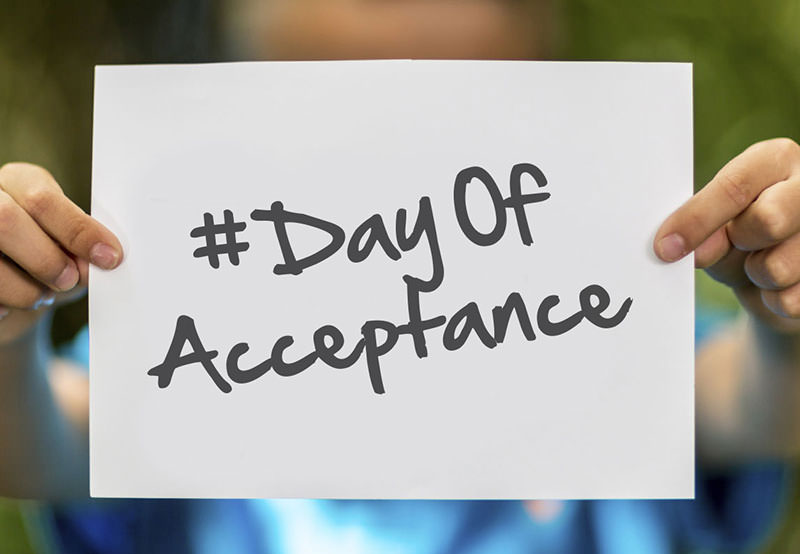 Acceptance at International Day of Acceptance