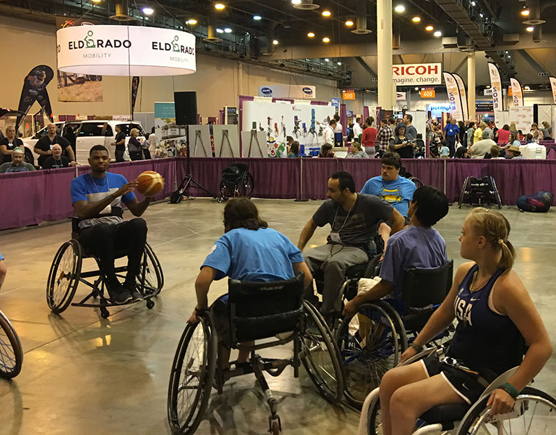 Jonathan Bender at Abilities Expo
