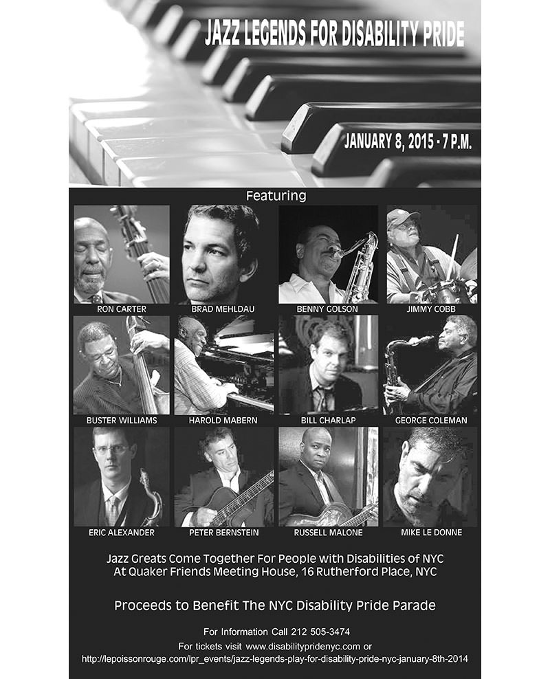 Jazz for Disability Pride Flyer