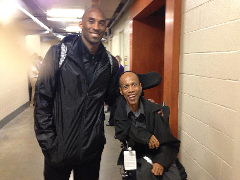 Kobe Bryant and Greg Smith