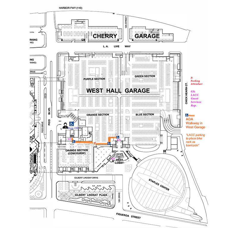 Los Angeles Convention Center Map