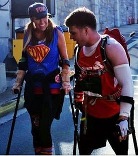 Walking with spinal cord injuries