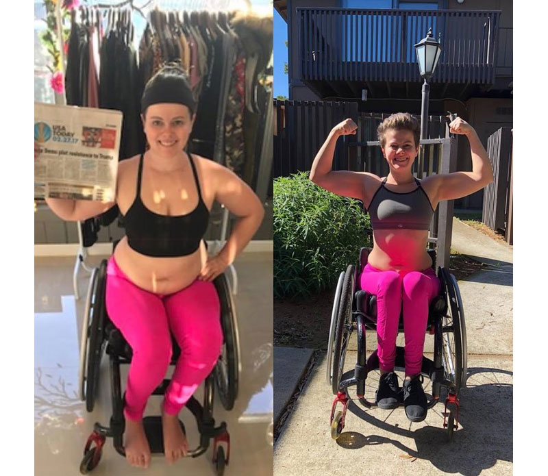 Maria Falls in Love with Fitness and Guides Others with Disabilities