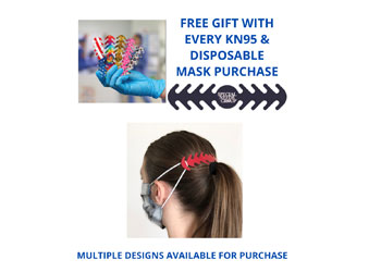 FREE Ear Saver/Mask Backer!21