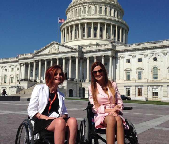 Natalie has advocated for disability rights on Capitol Hill.