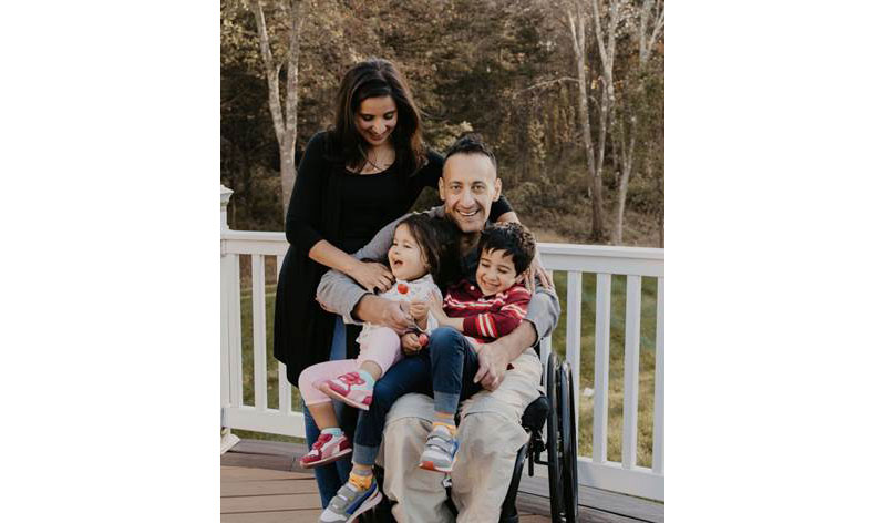 Fatimah Fakhoury and family