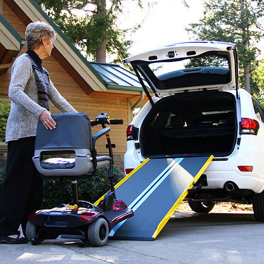 Portable ramps from EZ Access