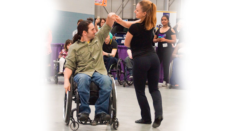Wheelchair Social Dancing