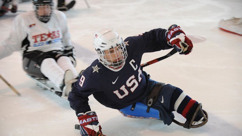 Sled Hockey and Skate Therapy Joint Demonstrations