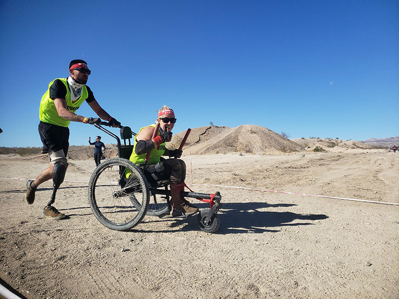 GRIT Freedom chair, the official all-terrain wheelchair for Para Spartan