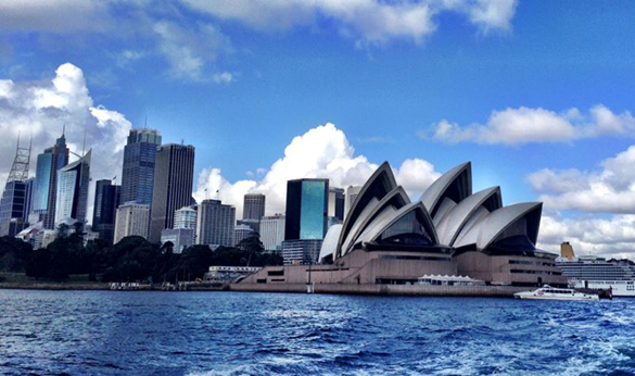 Wheelchair accessible Sydney.  The Manly Ferry allows great views of the city.