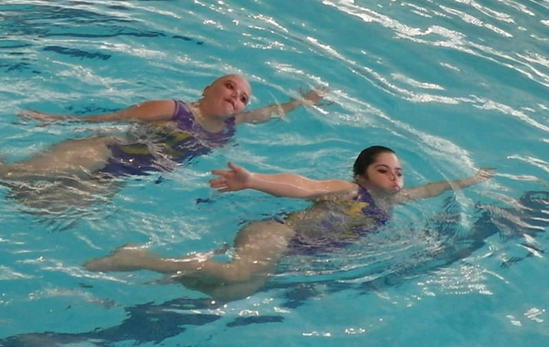 Synchronized Swimming with Disabilities