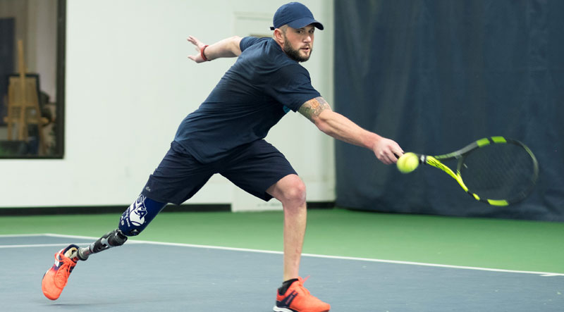 Adapted Tennis with Jeff Bourns