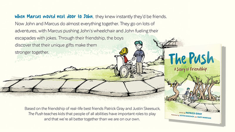 The Push: A Story of Friendship Book