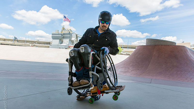 Abilities Expo Boston Wheelchair Skateboarding