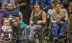 Wheelchair social dancing with Joe Torres