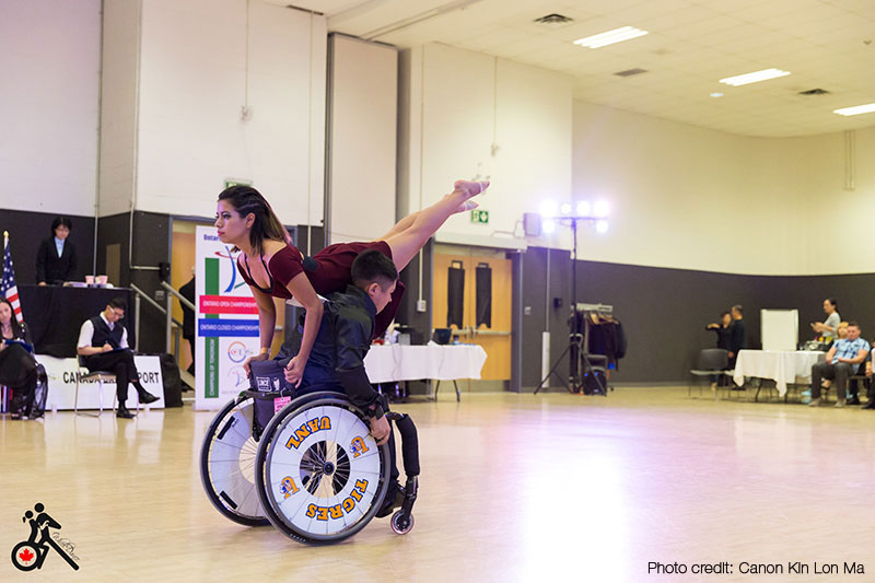 Wheelchair Dancing with Wheel Dance